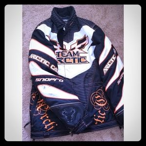 Women's arctic cat snowmobiling jacket